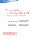 A look at cargo revenue management