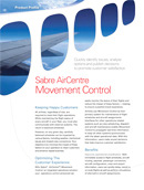 Sabre AirCentre Movement Control