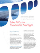 Sabre AirCentre Movement Manager